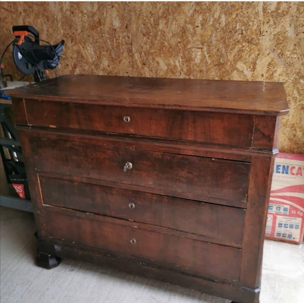 meuble ancien rénovation