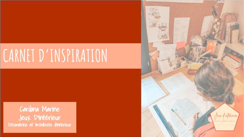 premiere page carnet d'inspiration