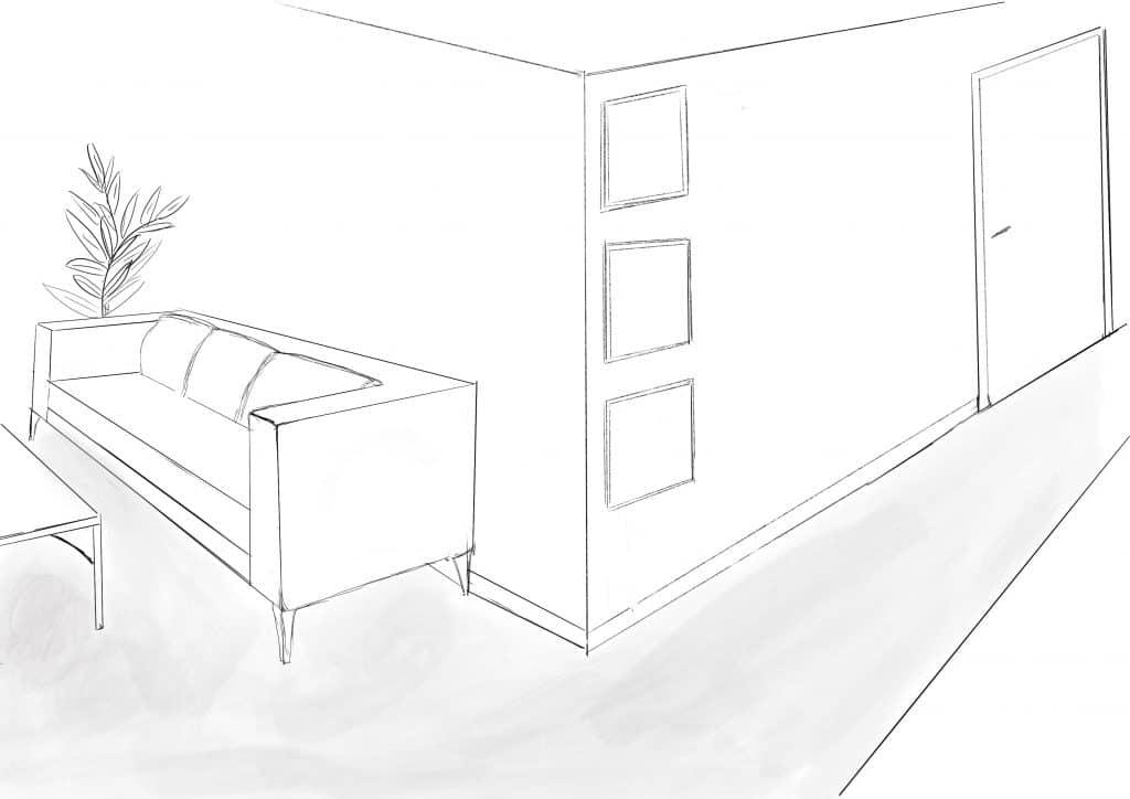dessin salon