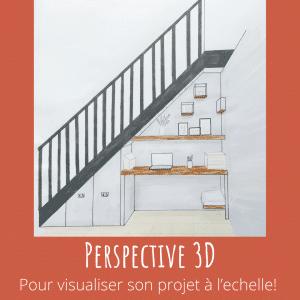 dessin perspective 3D